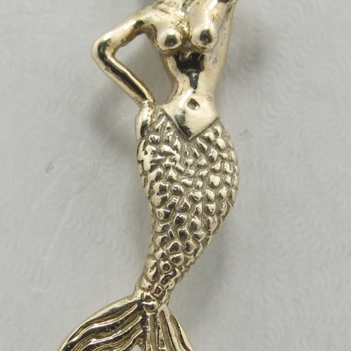 14k solid yellow gold superman pendant exquisite designs inc mermaid pendant aloadofball Choice Image