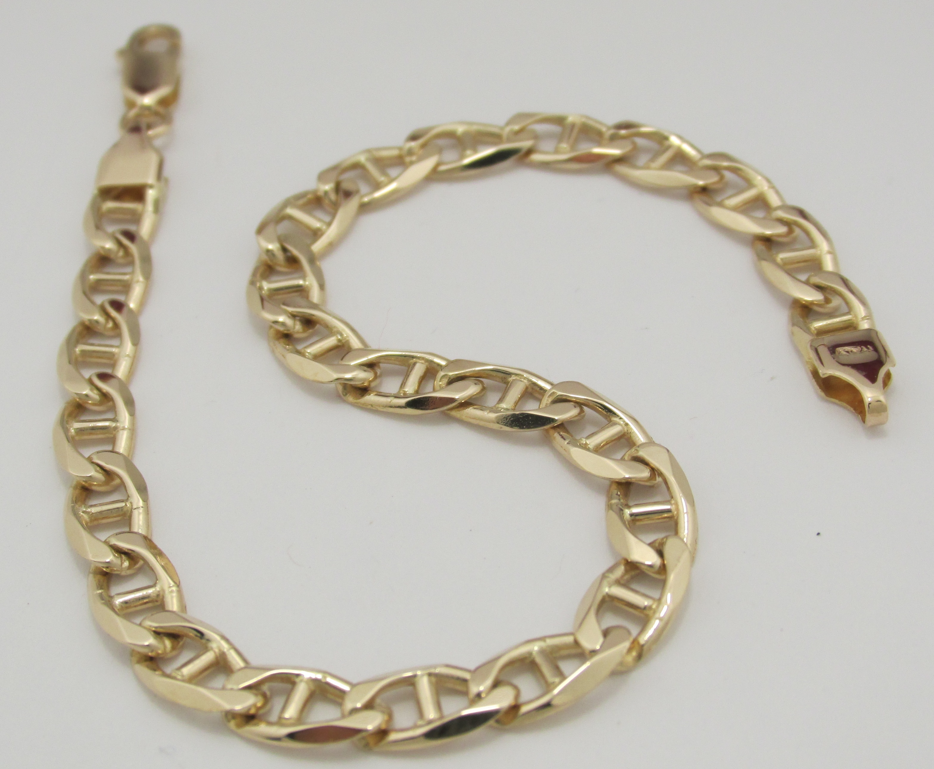 coil square camuto pin gold bracelet large with vince stone