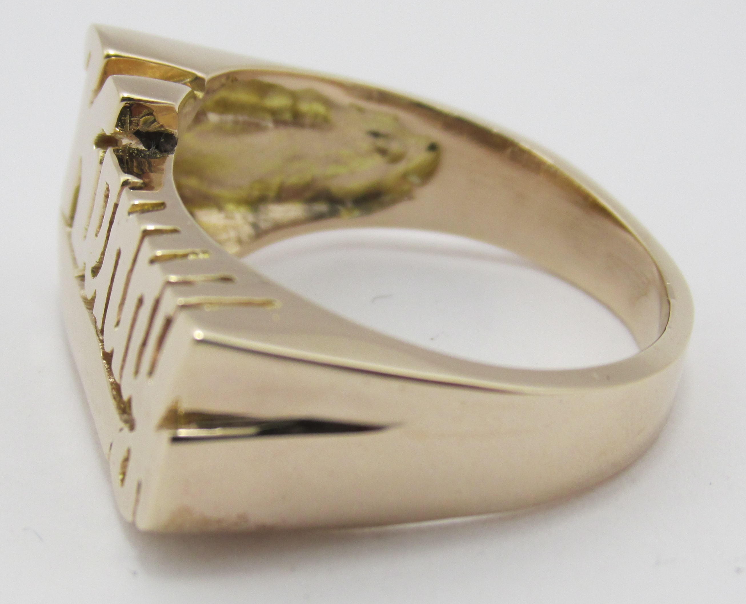 14k solid yellow gold name ring quot kenny quot select name